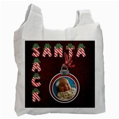 Santa Sack By Lil    Recycle Bag (two Side)   9rwicpx90jiz   Www Artscow Com Front