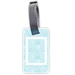 Honeymoon  Luggage Tag By Catvinnat   Luggage Tag (two Sides)   2mt5iujhnk29   Www Artscow Com Back