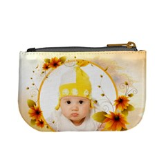 Flower Baby By Wood Johnson   Mini Coin Purse   Uj0d11y94zmc   Www Artscow Com Back