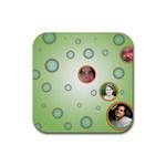 coaster_we_2 - Rubber Coaster (Square)