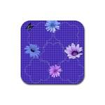 coaster_empty - Rubber Coaster (Square)