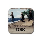 DSK coaster - Rubber Coaster (Square)