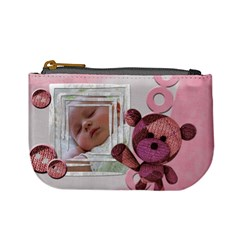Baby Pink   Coin Purse By Carmensita   Mini Coin Purse   Ey2kecj8u9rt   Www Artscow Com Front