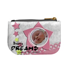 Baby Pink   Coin Purse By Carmensita   Mini Coin Purse   Ey2kecj8u9rt   Www Artscow Com Back