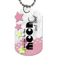 Baby Pink   Tag By Carmensita   Dog Tag (two Sides)   21kwyaevag1l   Www Artscow Com Back