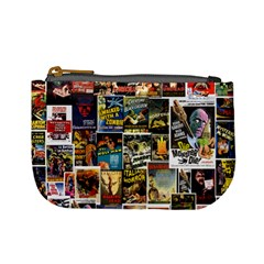 Old Horror Movies Coin Purse By Jorge   Mini Coin Purse   74m9ckbih6nv   Www Artscow Com Front