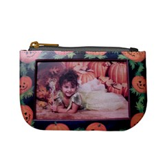 Abbey Halloween By Darlene Hohn   Mini Coin Purse   Wgadc2t7ty7y   Www Artscow Com Front