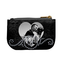 Black & Sparkle Mini Coin Purse By Lil    Mini Coin Purse   Skw4wo0odayl   Www Artscow Com Back