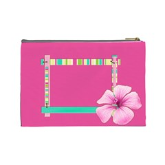 Cosmetics Bag By Angel   Cosmetic Bag (large)   Difh78ply6ts   Www Artscow Com Back