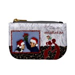 Kiss me under the mistletoe - mini coin purse