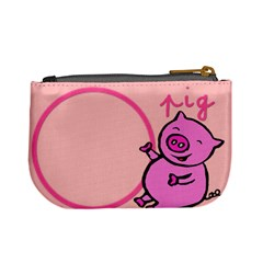 Elephant & Pig   Mini Coin Purse By Carmensita   Mini Coin Purse   R84gnf663y27   Www Artscow Com Back