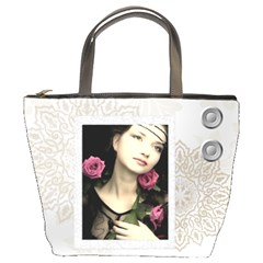 Flower Pattern By Joely   Bucket Bag   Qj52iok0km09   Www Artscow Com Front