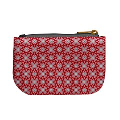 Casual  Purse Red Pattern By Jorge   Mini Coin Purse   4m46d6hdzts6   Www Artscow Com Back