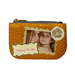 Dot  Dot Bag By Wood Johnson   Mini Coin Purse   Fj203jh21o5r   Www Artscow Com Front