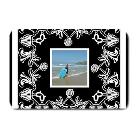 Art Nouveau Black & White Placemat By Catvinnat   Plate Mat   Xpf1w85bp4k5   Www Artscow Com 18 x12 Plate Mat - 1