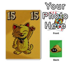 The Cat In The Sack Game By Jorge   Playing Cards 54 Designs   Ep0gxbsflvzd   Www Artscow Com Front - Heart2