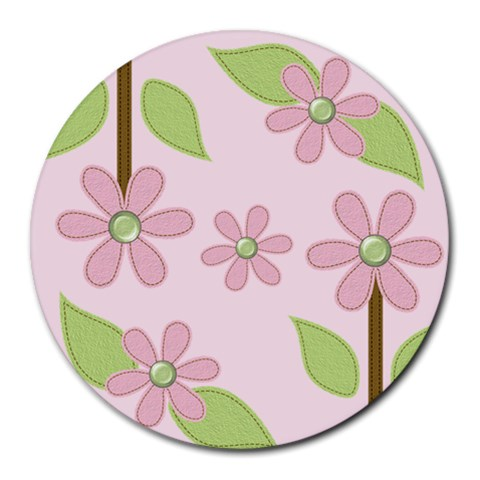 Round Mousepad By Jennyl   Round Mousepad   Uzvdzd5n5bl1   Www Artscow Com Front