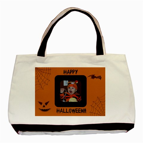 Halloween Tote By Jen   Basic Tote Bag   Okzmnhhbt8bw   Www Artscow Com Front
