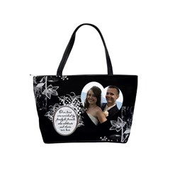 Maid Of Honour Handbag (british English Spelling) By Lil    Classic Shoulder Handbag   768x5tt3ivy0   Www Artscow Com Back
