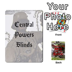 Ace Mud And Blood Central Powers By Adrian Jarvis   Playing Cards 54 Designs   9u9gzhdkmn4x   Www Artscow Com Front - SpadeA