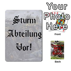 Mud And Blood Central Powers By Adrian Jarvis   Playing Cards 54 Designs   9u9gzhdkmn4x   Www Artscow Com Front - Heart6