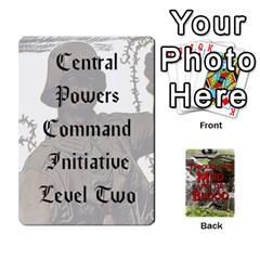 Mud And Blood Central Powers By Adrian Jarvis   Playing Cards 54 Designs   9u9gzhdkmn4x   Www Artscow Com Front - Diamond6