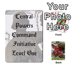 Mud And Blood Central Powers By Adrian Jarvis   Playing Cards 54 Designs   9u9gzhdkmn4x   Www Artscow Com Front - Spade10