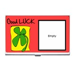 Good luck - Business card holder