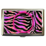 psychadelic zebra cigarette money case