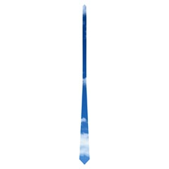 Art Nouveau Sky Blue Clouds Double Sided Tie By Catvinnat   Necktie (two Side)   Y9ubv54zbdj2   Www Artscow Com Back