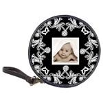 art nouveau black & white cd case - Classic 20-CD Wallet