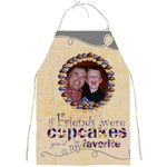 chocolate cupcake friends full print apron