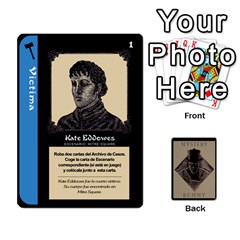 Ace Rummy Jack The Ripper 1 By Jorge   Playing Cards 54 Designs   V0vqestpmj7o   Www Artscow Com Front - SpadeA