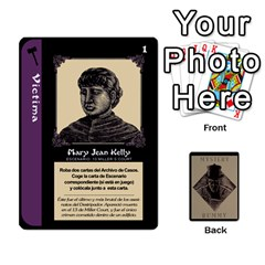 Rummy Jack The Ripper 1 By Jorge   Playing Cards 54 Designs   V0vqestpmj7o   Www Artscow Com Front - Heart3