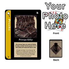 Rummy Jack The Ripper 1 By Jorge   Playing Cards 54 Designs   V0vqestpmj7o   Www Artscow Com Front - Heart9
