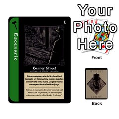 Rummy Jack The Ripper 1 By Jorge   Playing Cards 54 Designs   V0vqestpmj7o   Www Artscow Com Front - Spade7