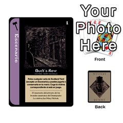 Rummy Jack The Ripper 1 By Jorge   Playing Cards 54 Designs   V0vqestpmj7o   Www Artscow Com Front - Spade9