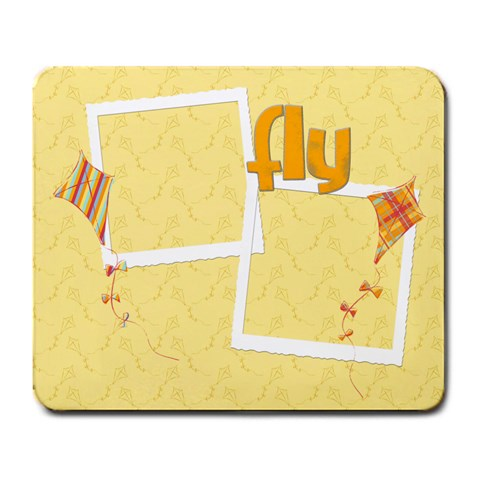 Kite Mousepad By Mikki   Large Mousepad   4y25bqnn6ps5   Www Artscow Com Front