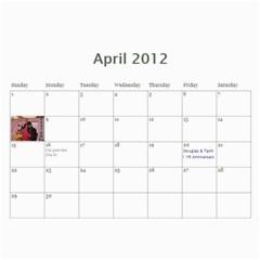 18 Mo Calendar Tk By Tami Kos   Wall Calendar 11  X 8 5  (18 Months)   Whwh2vxmxx6q   Www Artscow Com Apr 2012