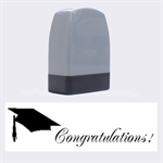 Congratulations! - Name Stamp