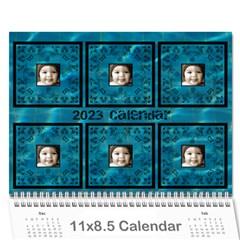 2015 Art Nouveau Pool Cool Calendar By Catvinnat   Wall Calendar 11  X 8 5  (12 Months)   Ah69kignwtav   Www Artscow Com Cover