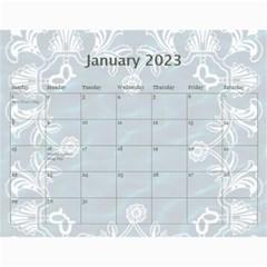 2015 Art Nouveau Pool Cool Calendar By Catvinnat   Wall Calendar 11  X 8 5  (12 Months)   Ah69kignwtav   Www Artscow Com Jan 2015
