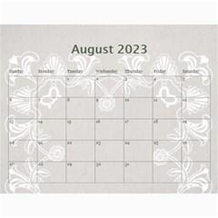 Art Nouveau Moccachino Calendar 2015 By Catvinnat   Wall Calendar 11  X 8 5  (12 Months)   0sqgy7c5yzj5   Www Artscow Com Aug 2015