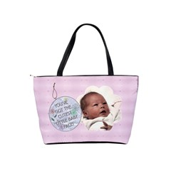 Oh Baby Girl Shoulder Handbag By Lil    Classic Shoulder Handbag   4p3d4iqc2anx   Www Artscow Com Back
