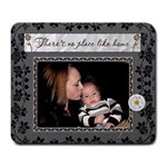 There is no place like home mousepad - Large Mousepad