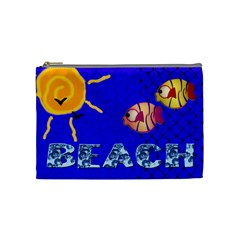 Beach  Mini Coin Purse By Carmensita   Cosmetic Bag (medium)   126raekqujea   Www Artscow Com Front