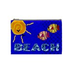 BEACH- Mini coin purse - Cosmetic Bag (Medium)