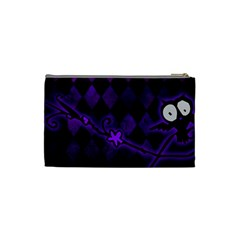 Halloween Cosmetic Bag S 01 By Carol   Cosmetic Bag (small)   Oyvlj0h4yih3   Www Artscow Com Back