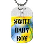 Sweet Baby Boy Dog Tag - Dog Tag (Two Sides)