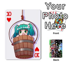 Touhou Playing Cards By Keifer   Playing Cards 54 Designs   7dgrygn28gyi   Www Artscow Com Front - Heart10